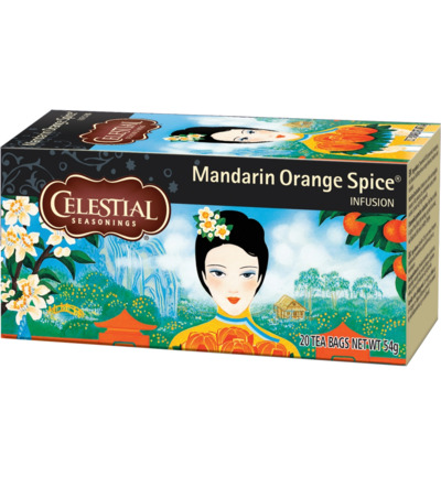 Mandarin orange spice herb tea
