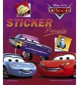 Disney sticker parade cars