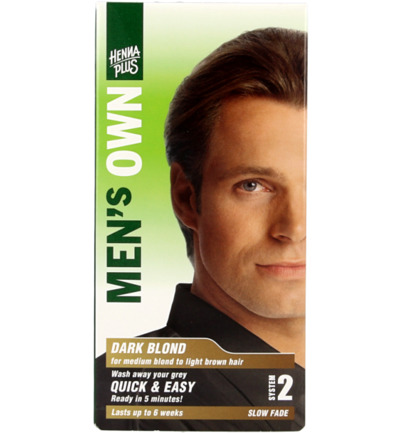 Men's own dark blond