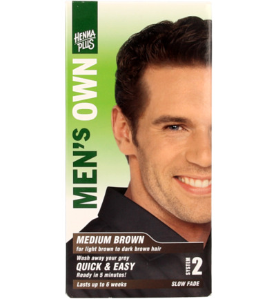 Men's own medium brown