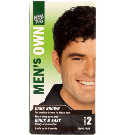 Men's own dark brown