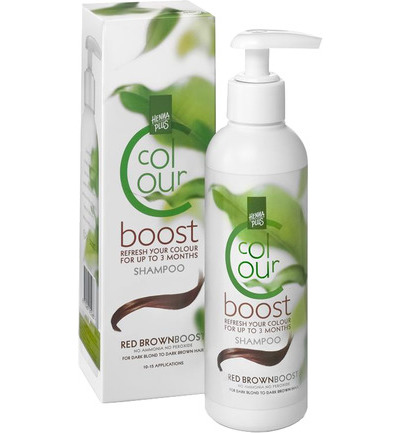 Hennaplus Color Boost 7 Red Brown 200ml