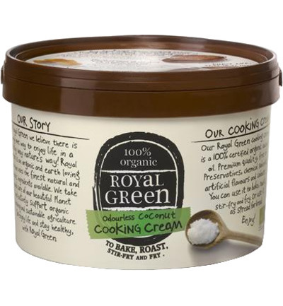 Royal Green Coconut Cooking Kokosolie 250ml