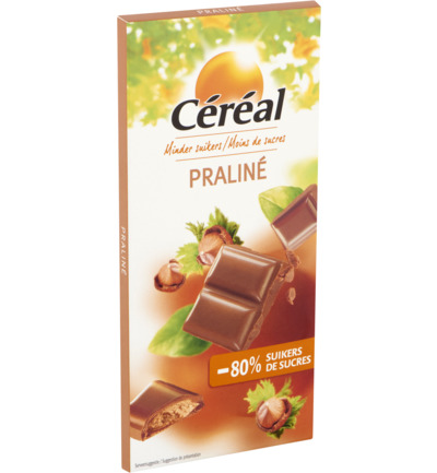 Tablet praline maltitol