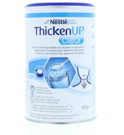 Thicken up clear