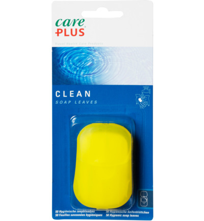 Clean soap leaves