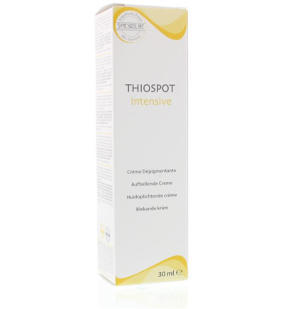 Thiospot intensive skin cream