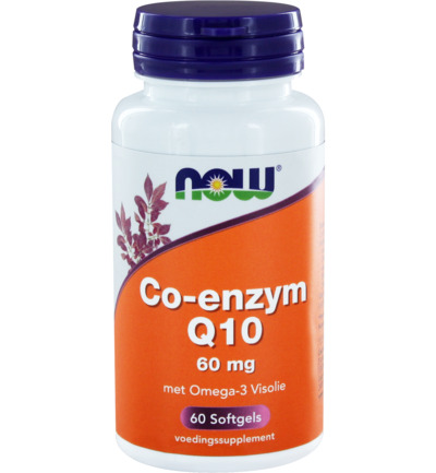 Co-enzym Q10 60 mg met omega-3 visolie
