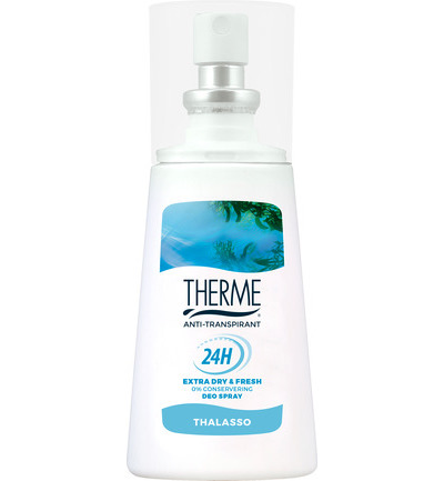Anti-transpirant thalasso spray