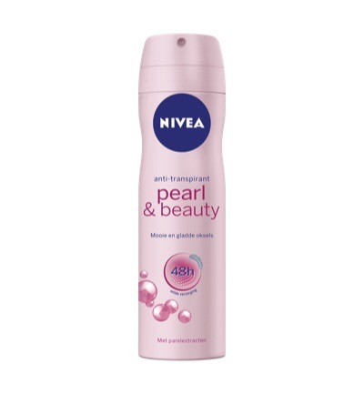 Deodorant pearl & beauty spray