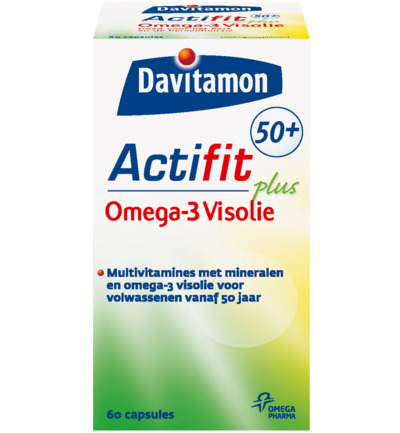 Actifit 50+ Omega 3 visolie