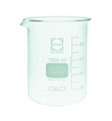 Bekerglas laag model 2000 ml 200 - 1800 ml