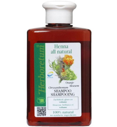 Henna all natural shampoo volume