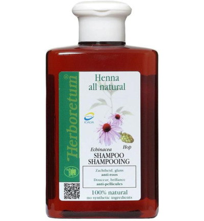 Henna all natural shampoo anti roos