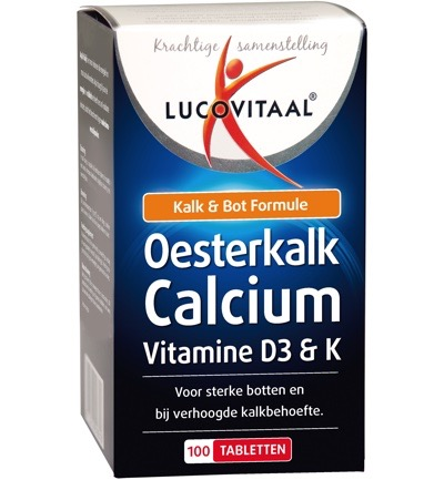 Oesterkalk calcium tabletten