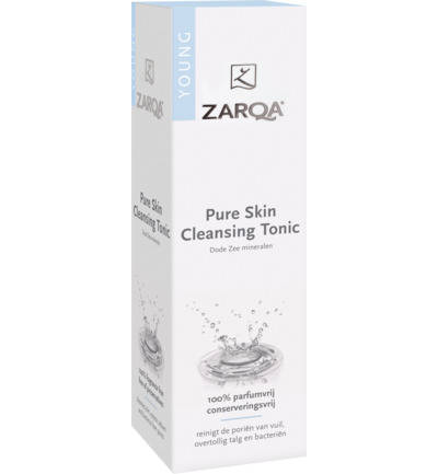 Pure skin cleansing tonic