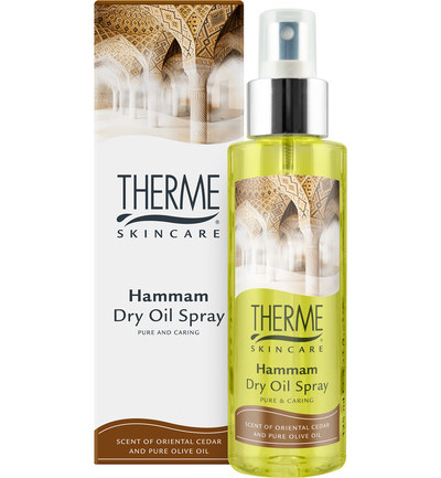 Dry oil spray hammam
