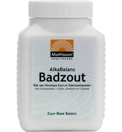 Alkabalans zuur base badzout PH 8.0