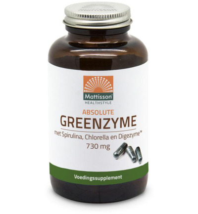 Greenzyme spirulina chlorella