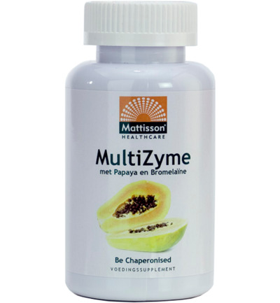 MultiZyme met papaya en bromelaïne