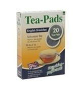 English breakfast tea pads