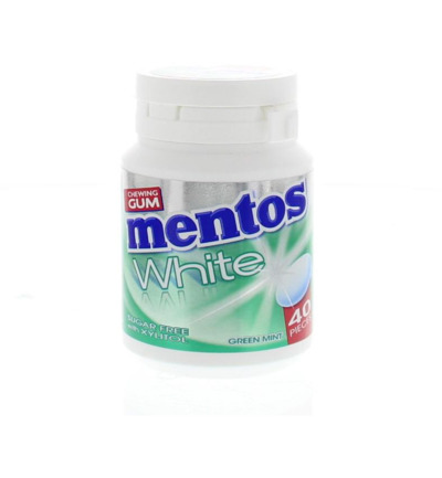 Gum greenmint white pot