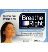 Breathe Right Neusstrips 30 Stuks