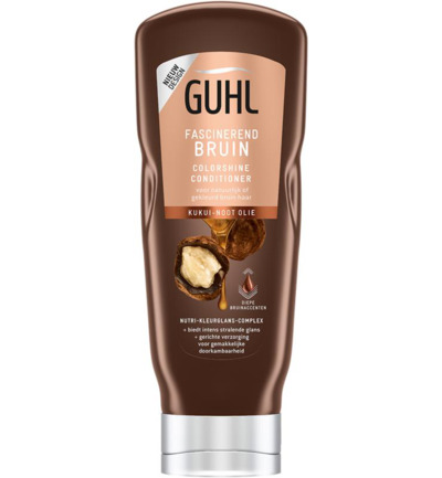 Conditioner colorshine bruin glans
