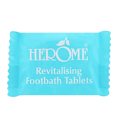 Footbath revitalizing tablets