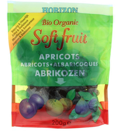 Soft fruit abrikozen