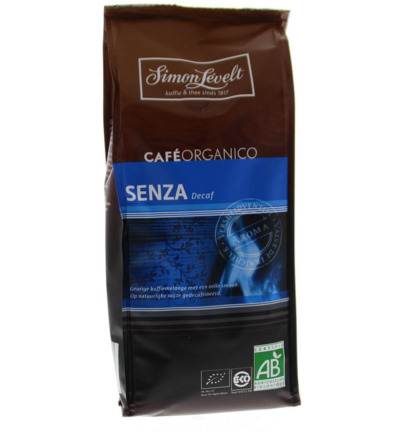 Cafe organico senza decaf