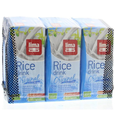 Rice drink original pakjes 200 ml