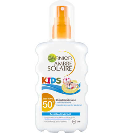 Garnier Ambre Solaire Zonnebrand Kids Spray Factor(spf)50+ 200ml