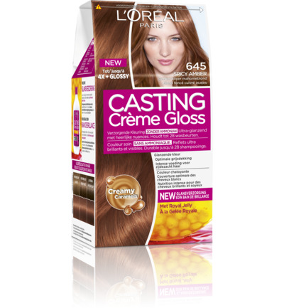 Casting creme gloss 645 Spicy amber