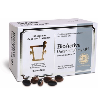 Bio active uniquinol Q10 50 mg