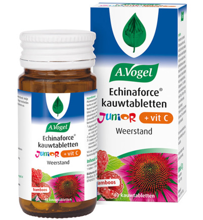 Echinaforce Junior met Vitamine C kauwtabletten