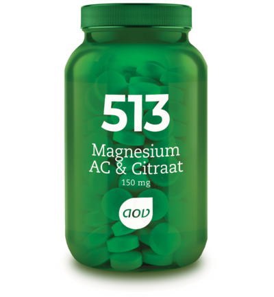 513 Magnesium AC & Citraat 150 mg