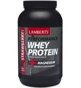 Whey protein strawberry