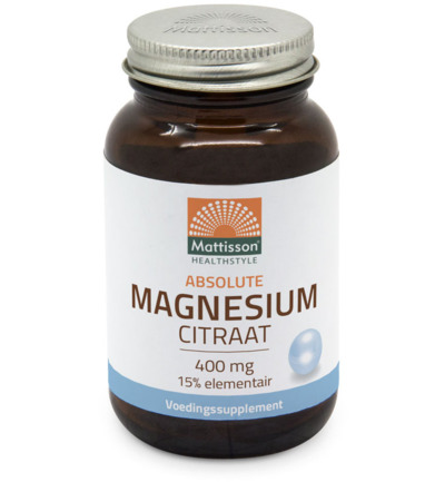 Active magnesium citraat 400mg