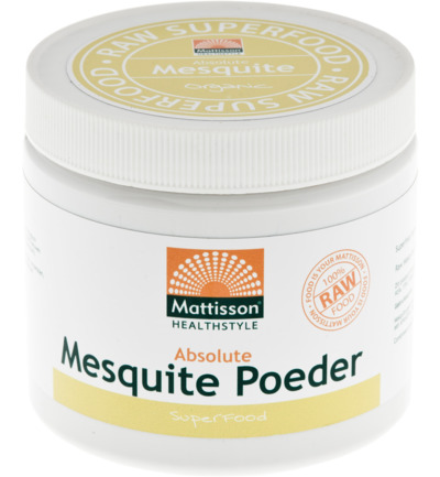 Absolute mesquite poeder raw bio