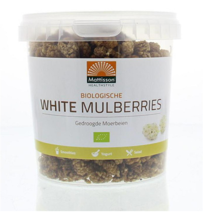 Absolute white mulberries raw bio