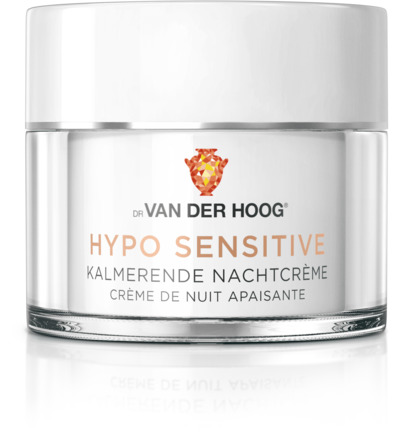 Hypo sensitive nachtcreme
