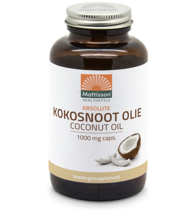 Absolute kokosnoot olie 1000 mg