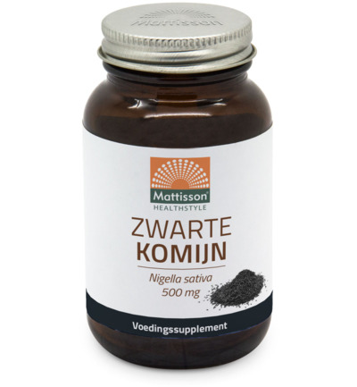 Absolute zwarte komijn 500 mg
