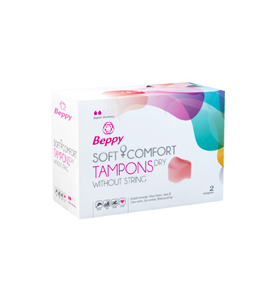Soft+ comfort tampons dry