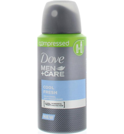 Deodorant compressed men+ care cool fresh