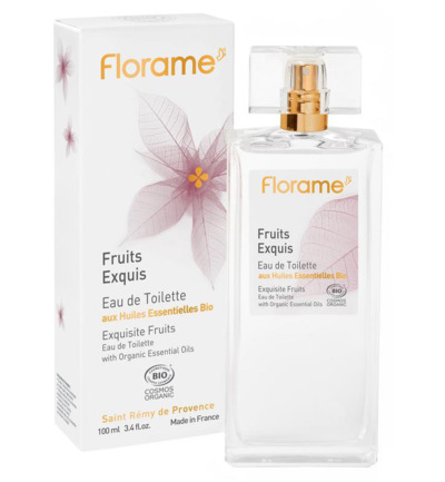 Eau de toilette exquisite fruits bio