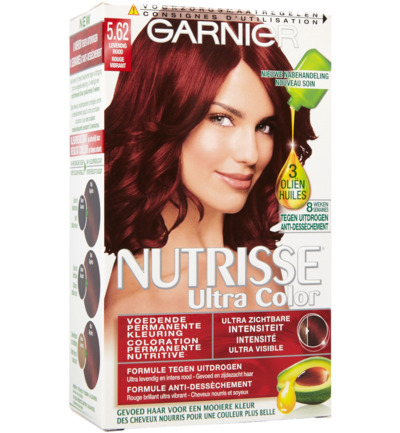 Nutrisse ultra color 5.62 levendig rood