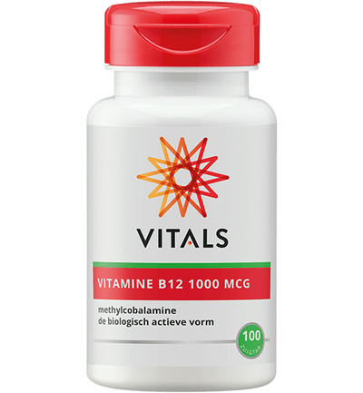 Vitamine B12 methyl 1000 mcg
