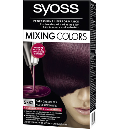 Mixing Colors 5-32 Dark Cherry Mix Haarverf